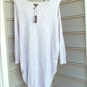 Brand new Express cold shoulder sweater